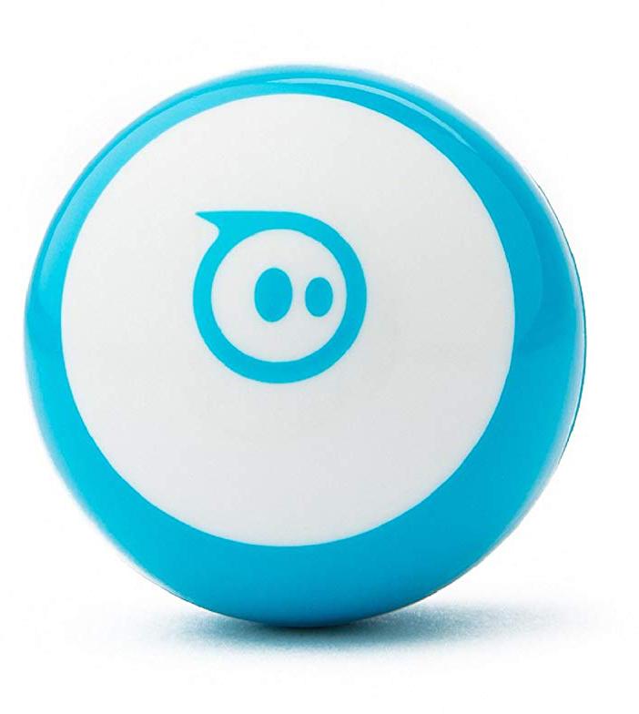 Робот-шар Mini, синий