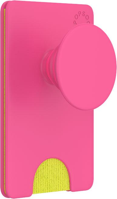 Держатель/кардхолдер для телефона , розовый