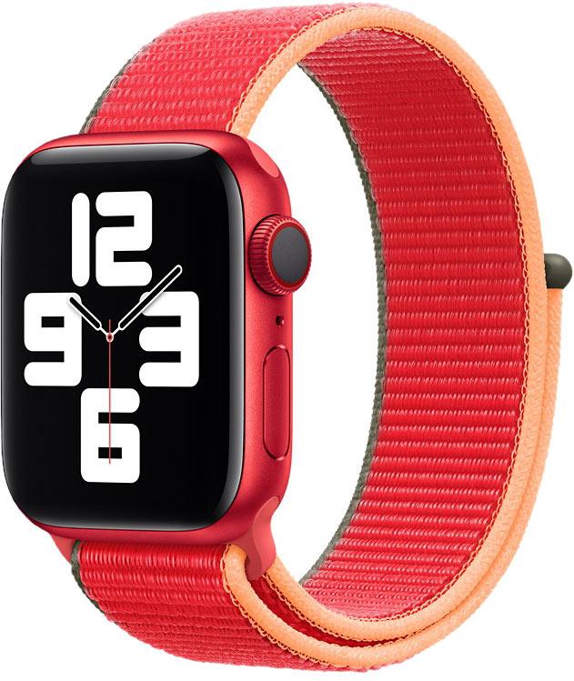 Спортивный браслет для Watch 40 мм, красный