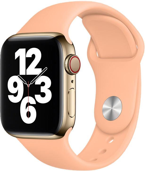 Спортивный ремешок для Watch 40 мм, светло-абрикосовый