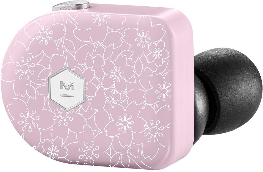Беспроводные наушники MW07, розовый