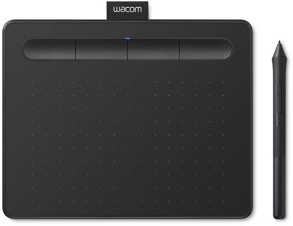 Графический планшет Intuos S Bluetooth, черный