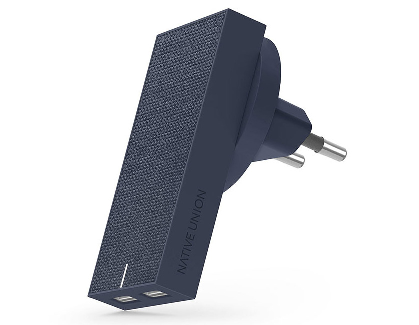 Сетевое зарядное устройство Smart 2 Charger 3.1 A синее