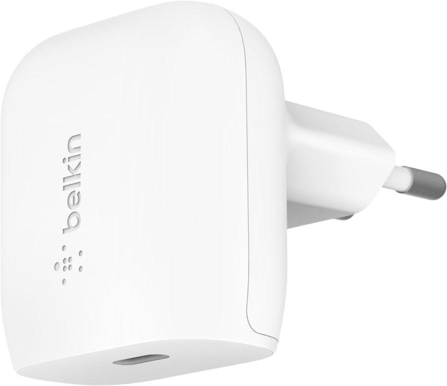 Сетевое зарядное устройство USB-C, 20Вт, белый
