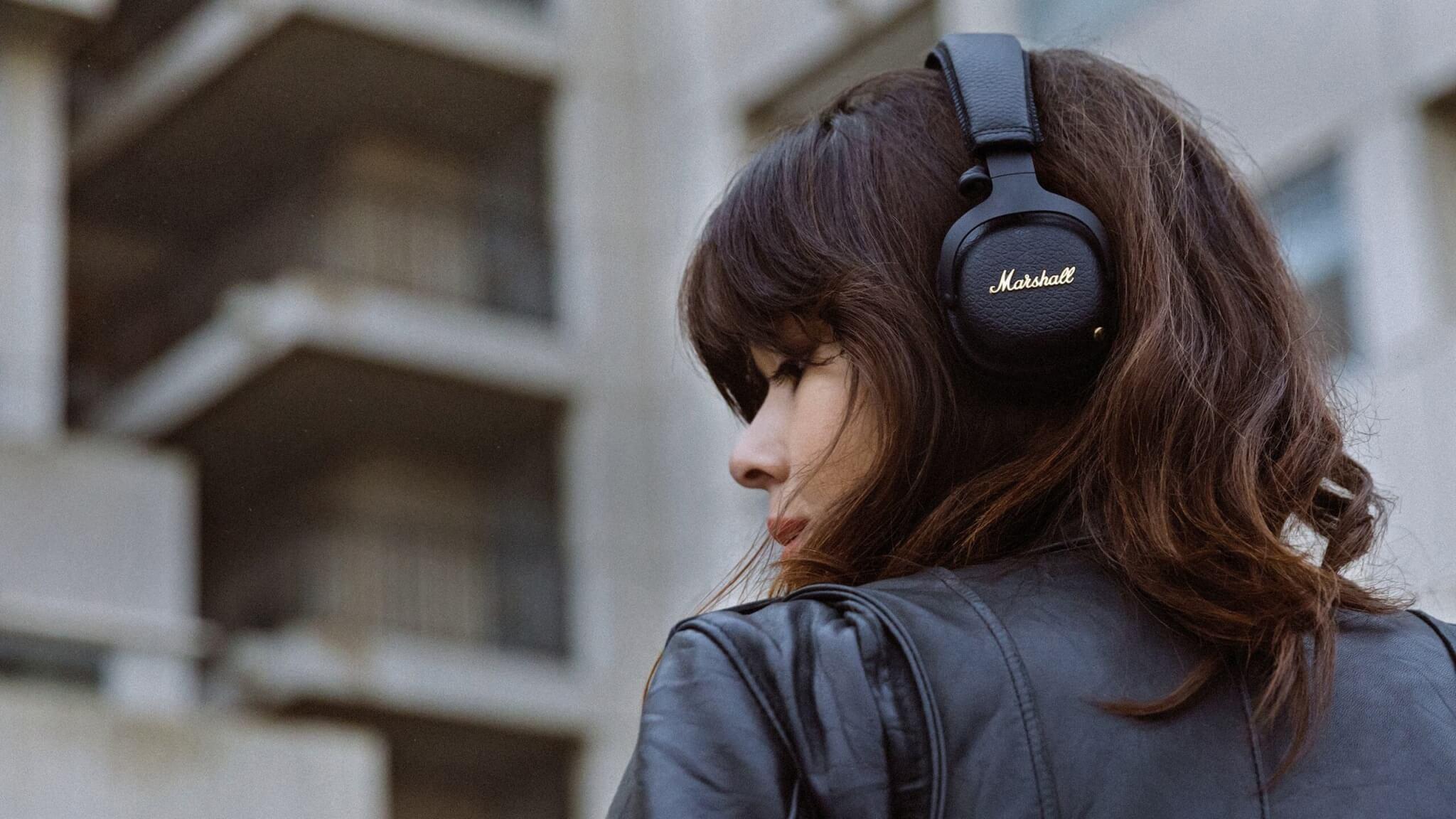 купить беспроводные наушники Marshall Mid Anc Bluetooth черный