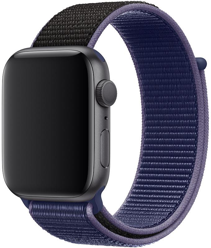 Спортивный браслет Watch 44/42 мм, темно-синий