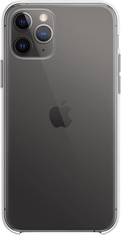 Чехол для iPhone 11 Pro, пластик, прозрачный
