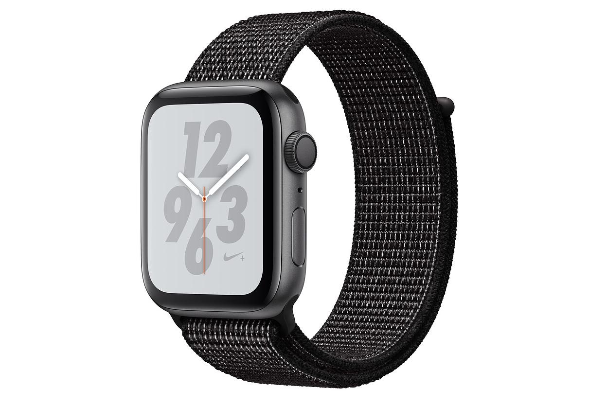 830f762e Apple Watch Nike+ Series 4, 40 мм, корпус из алюминия цвета «серый космос