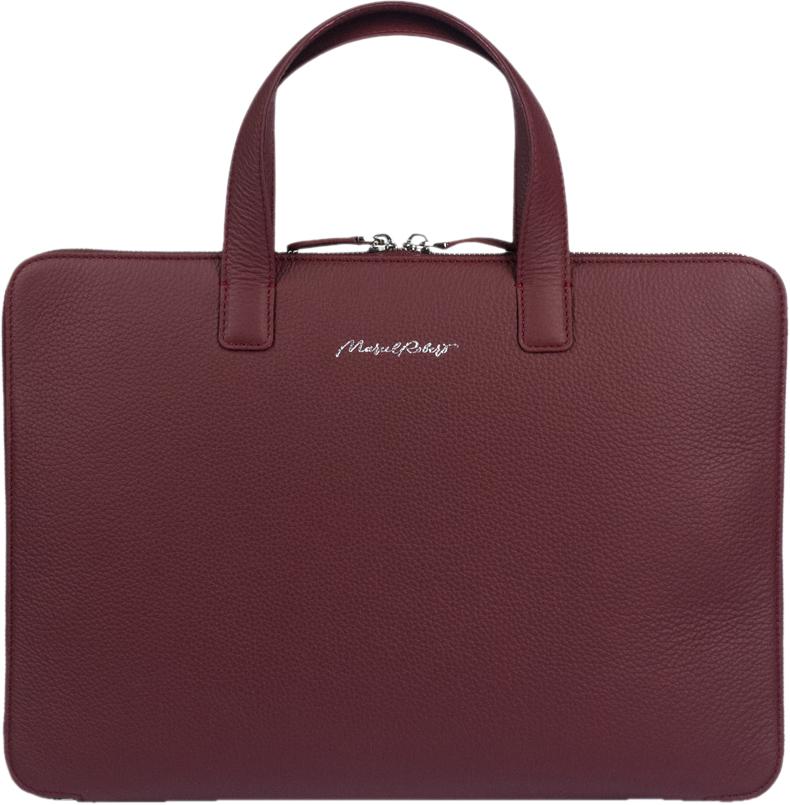 """Сумка Bocage Simple для ноутбуков 13"""", теленок, бордовый"""