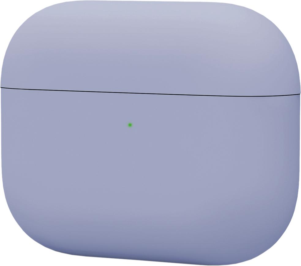 Чехол для AirPods Pro, силикон, лавандовый