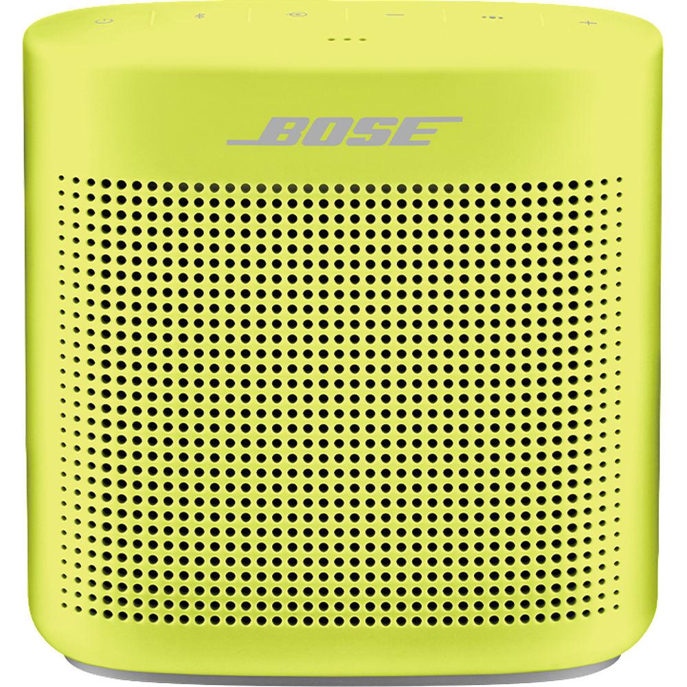 Акустика SoundLink Color II, желтый