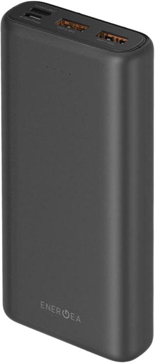 Внешний аккумулятор EnergEA Compac Ultra65 20000 мАч, серый