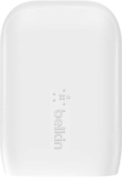 Сетевое зарядное устройство USB-C+USB-A, PD, 30 Вт, белый