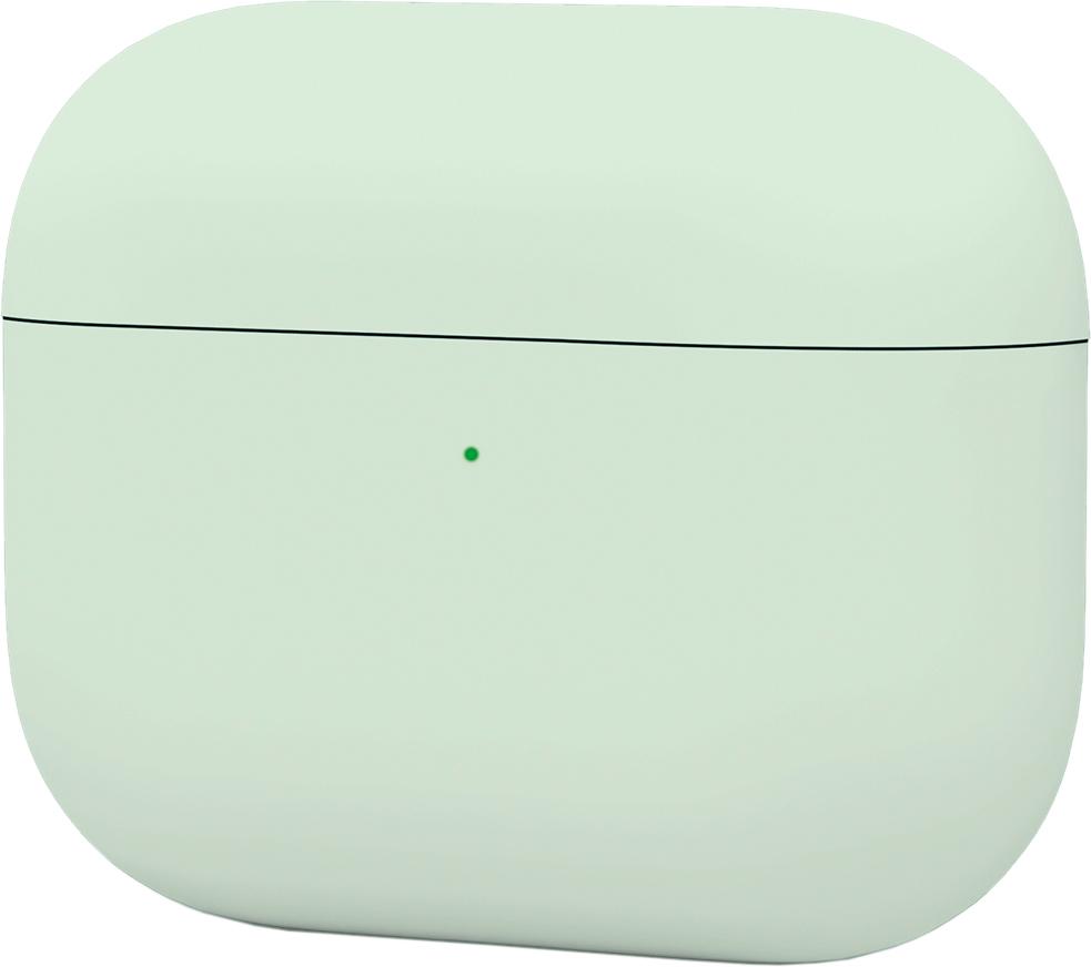 Чехол для AirPods Pro, силикон, зеленый