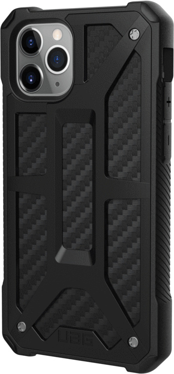 Чехол Monarch для iPhone 11 Pro, карбон