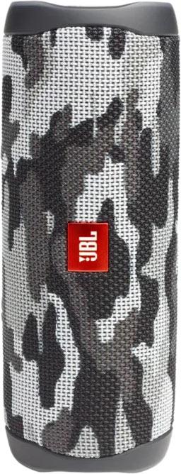 Акустика портативная Flip 5, серый камуфляж