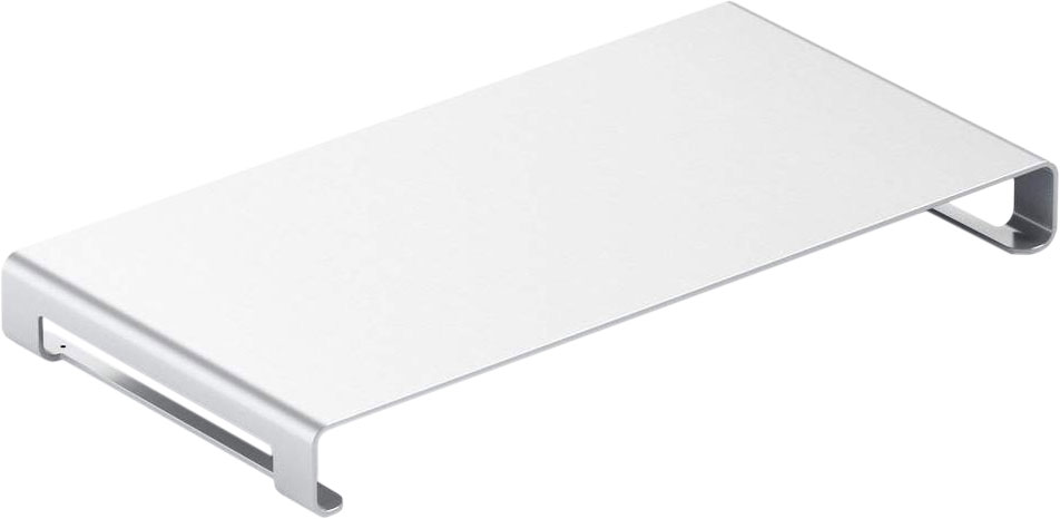 Подставка Universal Vertical Aluminum Unibody Monitor Stand для Mac, серебристый