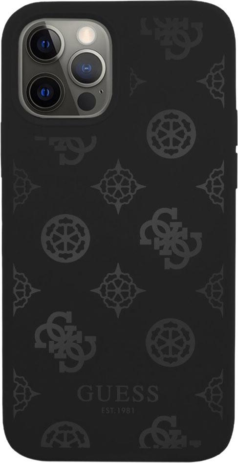 Чехол Peony для iPhone 12/12 Pro, черный