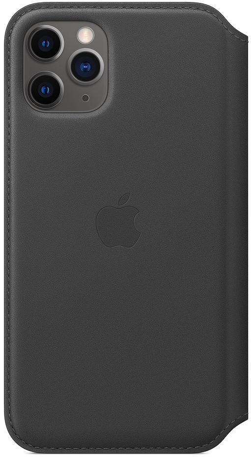 Чехол для iPhone 11 Pro Leather Folio, чёрный