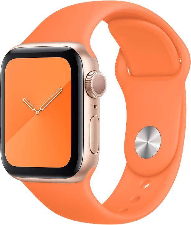 Спортивный ремешок для Watch 40 мм, «оранжевый витамин»