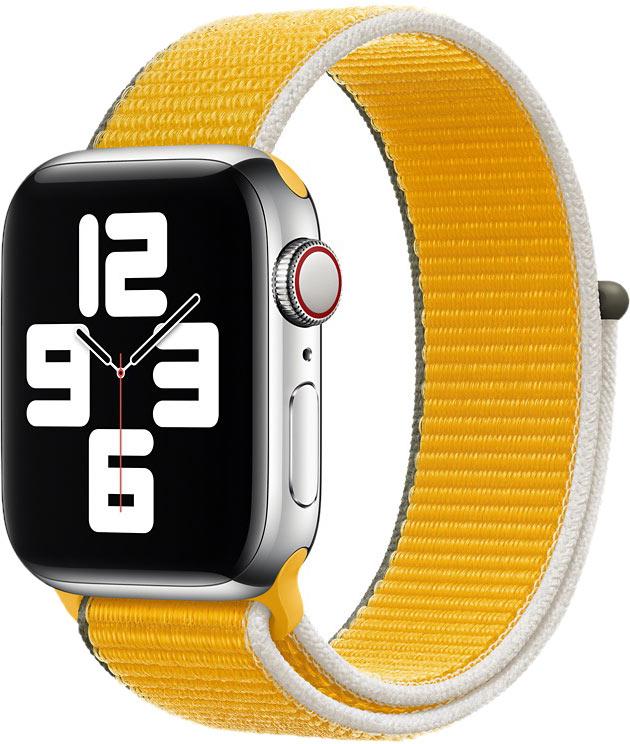 Спортивный браслет для Watch 40 мм, ярко-жёлтый