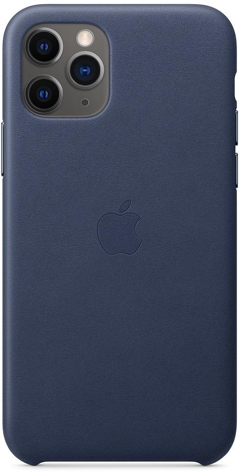 Чехол для iPhone 11 Pro Leather, темно-синий