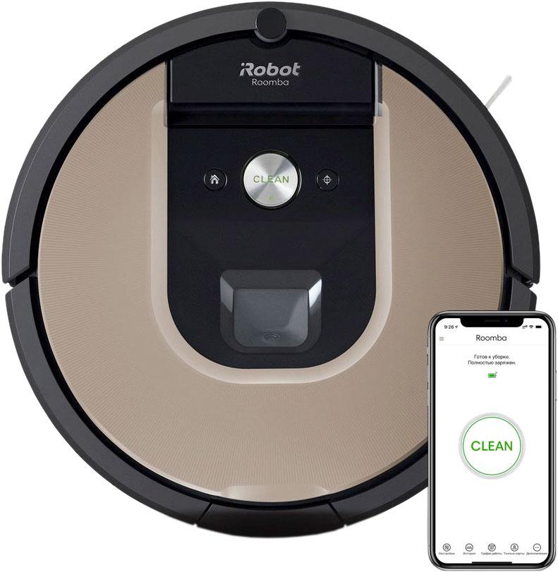 Робот-пылесос Roomba 976, черный