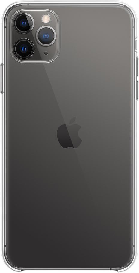 Чехол для iPhone 11 Pro Max, пластик, прозрачный