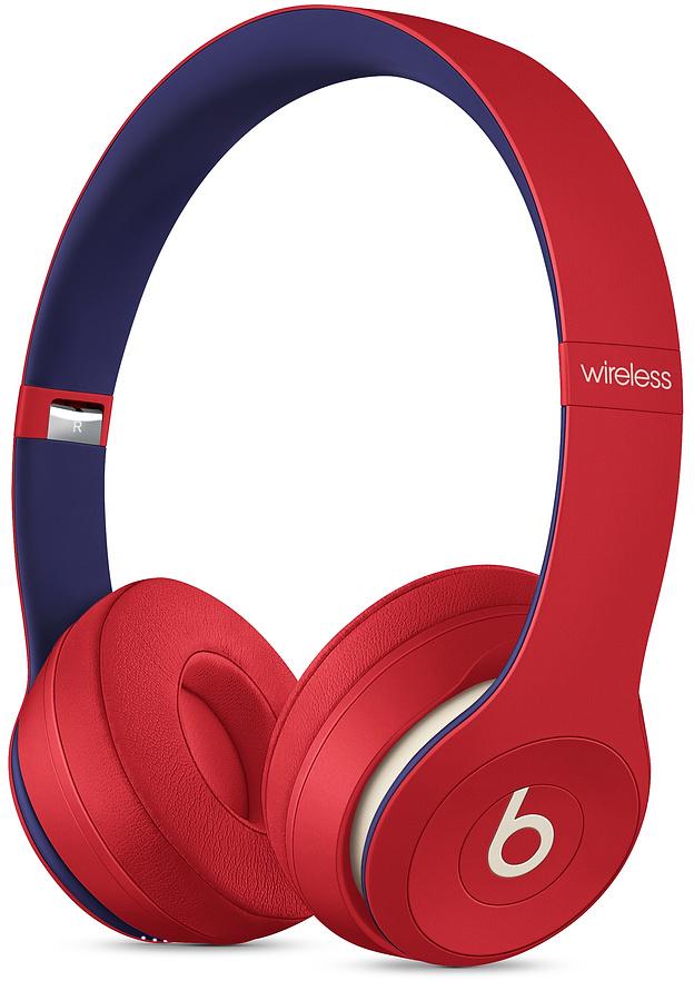 Беспроводные наушники Solo 3 Wireless Club, красный
