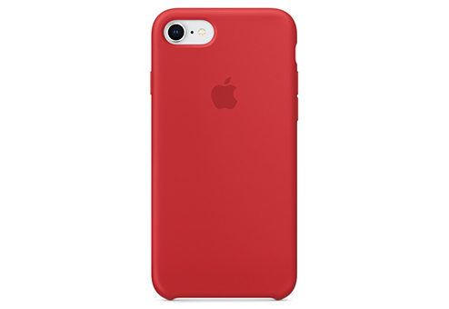 Чехол Silicone Case для iPhone 8/7 (PRODUCT)RED