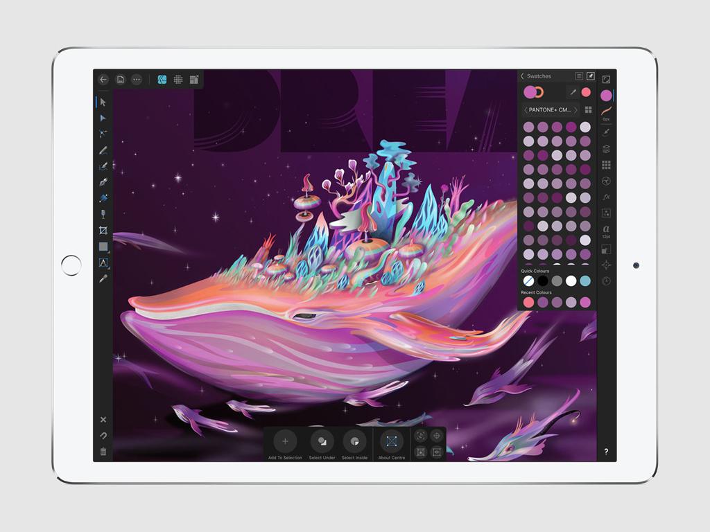 Обзор Affinity Designer. Профессиональный векторный дизайн на iPad — Блог re:Store Digest