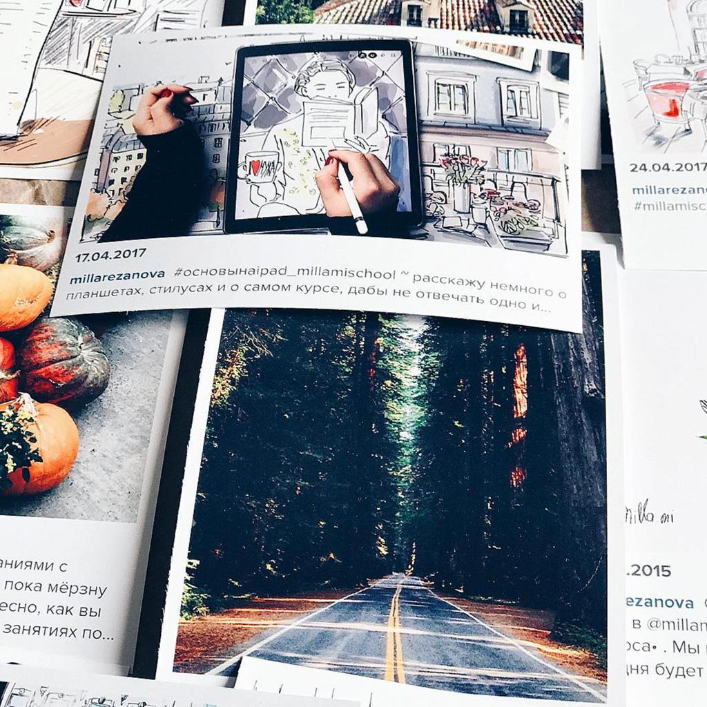 5 советов по созданию скетчей на iPad дизайнера Миллы Резановой — Блог re:Store Digest