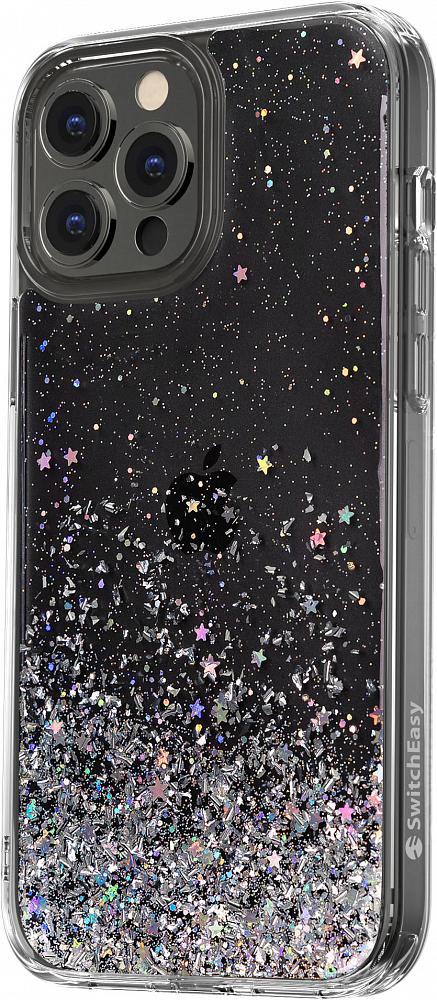 Чехол Starfield для iPhone 13 Pro Max, полиуретан, прозрачный