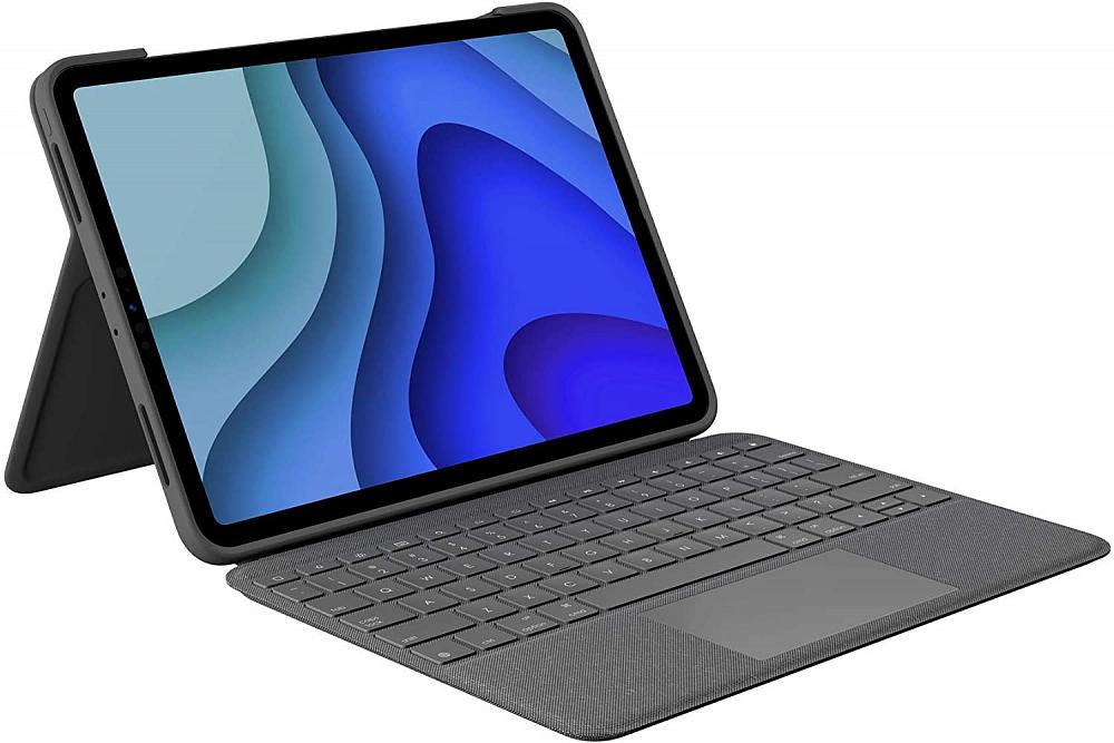 Чехол-клавиатура Combo Touch для iPad Pro 11, серый