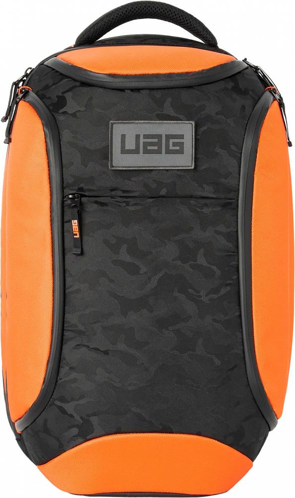 """Рюкзак Urban Armor Gear BackPack для ноутбуков до 16"""", черный+оранжевый"""