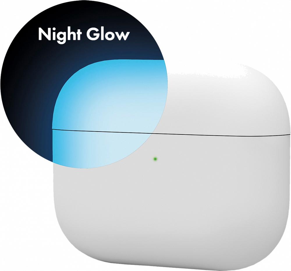 Чехол для AirPods Pro, силикон, night glow,