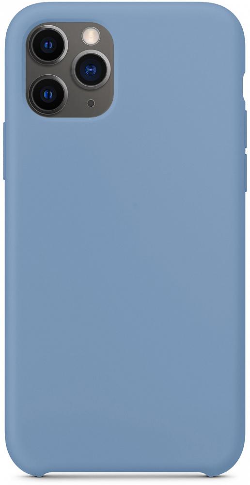 Чехол для iPhone 11 Pro, силикон, синий