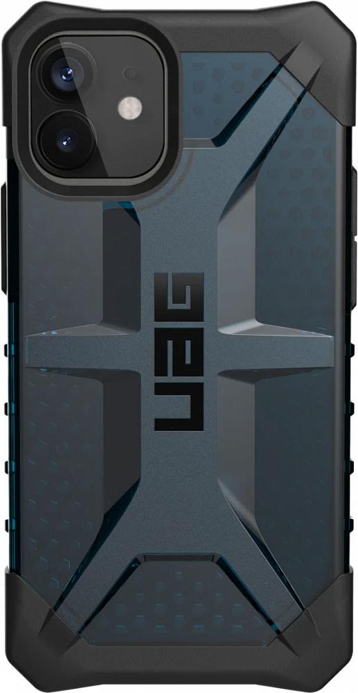 Чехол Plasma для iPhone 12 mini, сине
