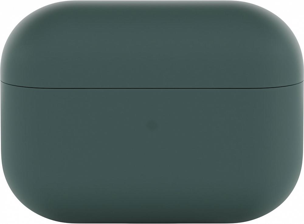 Чехол для AirPods Pro, soft touch, темно