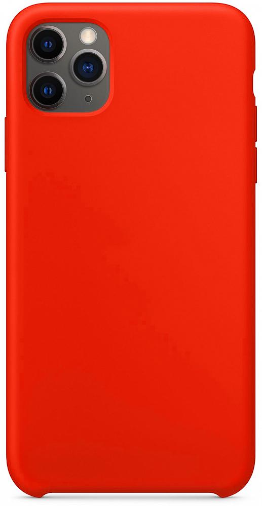 Чехол для iPhone 11 Pro Max, силикон, красный