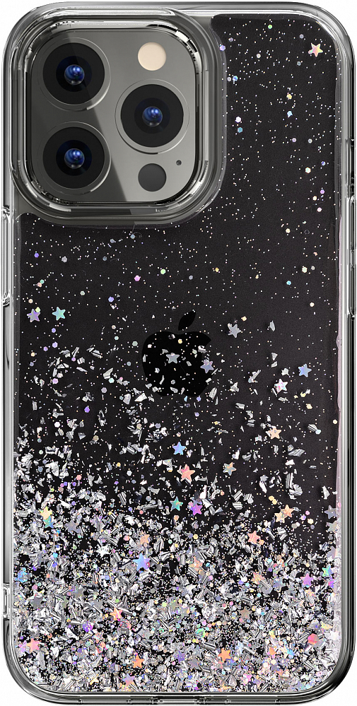 Чехол Starfield для iPhone 13 Pro, полиуретан, прозрачный