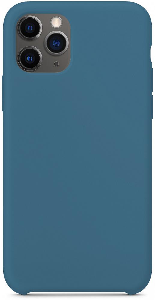 Чехол для iPhone 11 Pro, силикон, космический синий