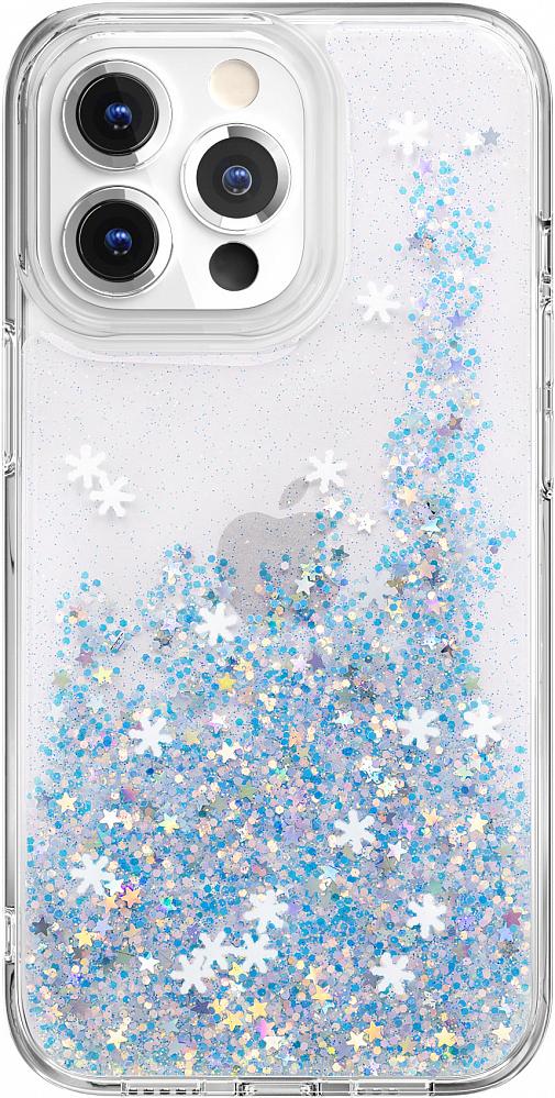 Чехол Starfield для iPhone 13 Pro, полиуретан, Frozen