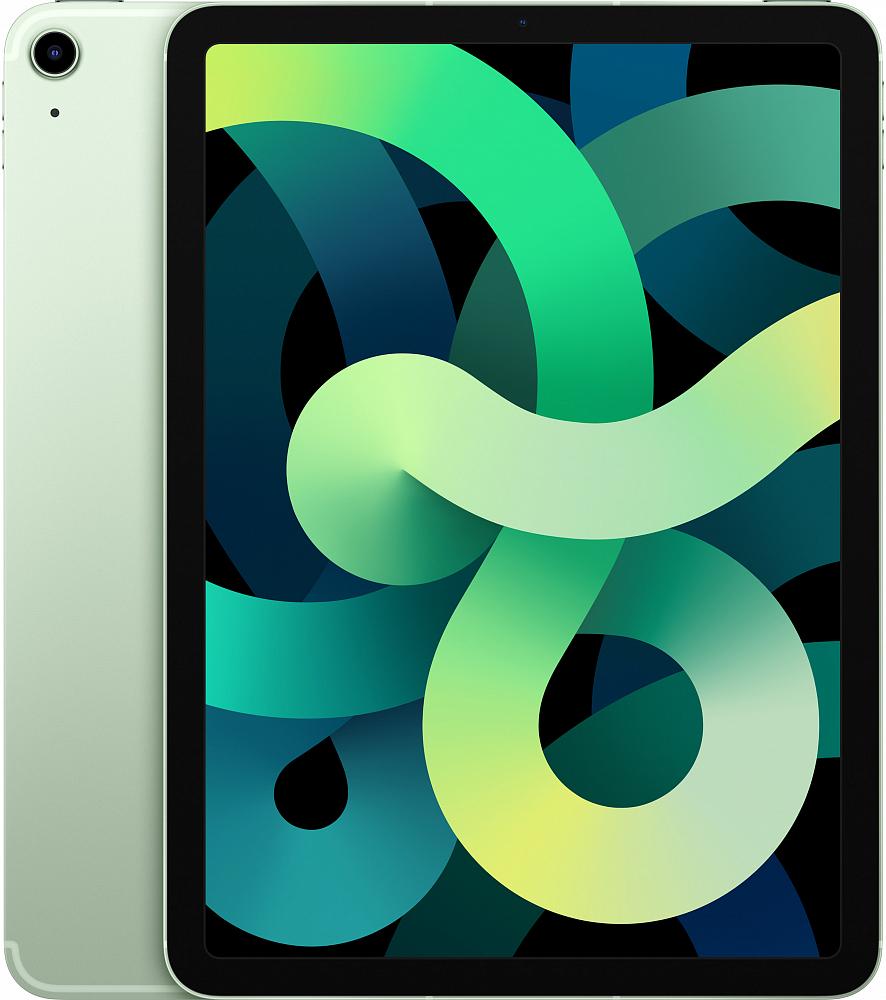 iPad Air Wi-Fi + Cellular 256 ГБ, зеленый