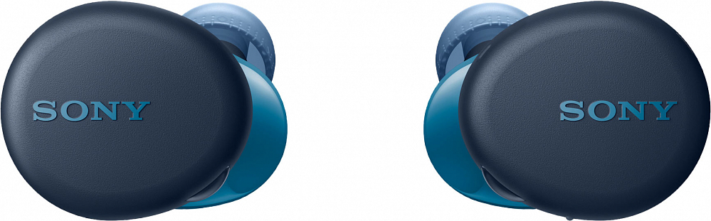 Беспроводные наушники WF-XB700, синий