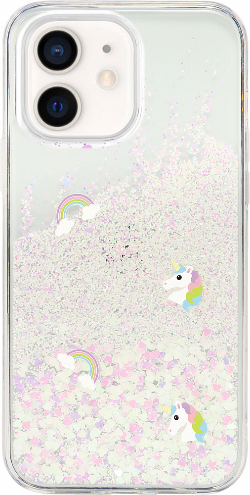 Чехол Flash для iPhone 12 mini, Happy Park