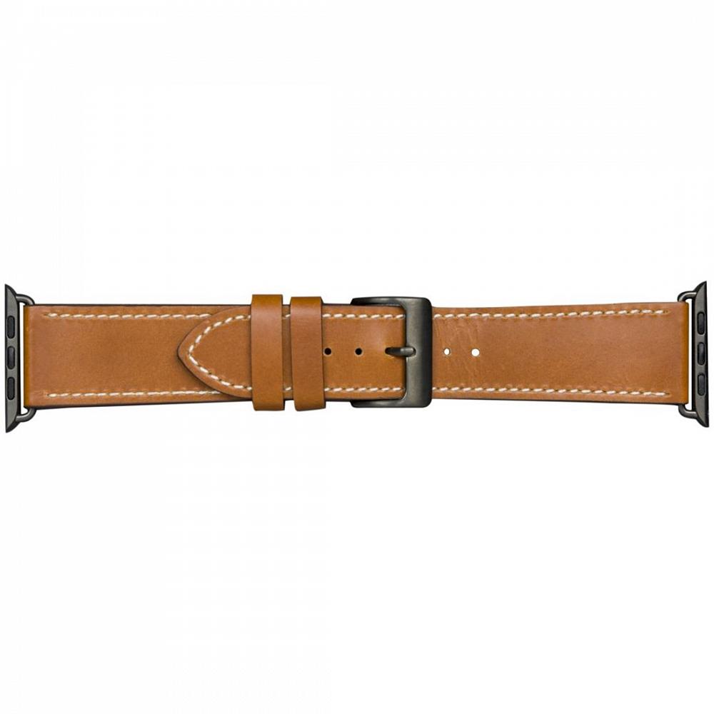 Ремешок Copenhagen для Apple Watch 42/44 мм, кожа, коричневый.
