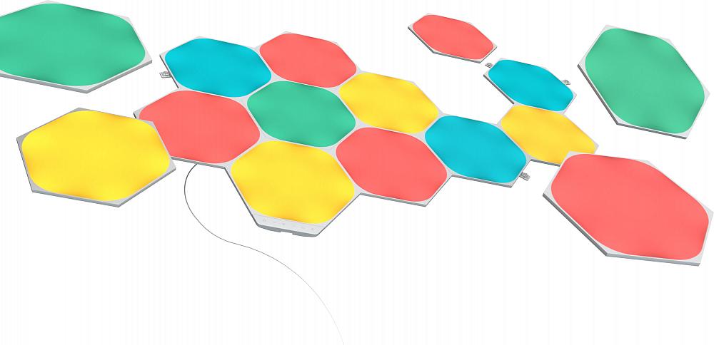 Светильник Shapes Hexagon, 15 панелей