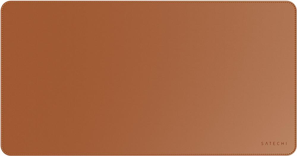Коврик для мыши Eco Leather Deskmate, коричневый