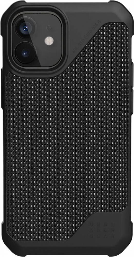 Чехол Metropolis для iPhone 12 mini, черный